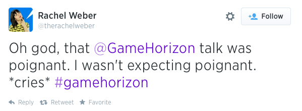 Game Horizon Tweet